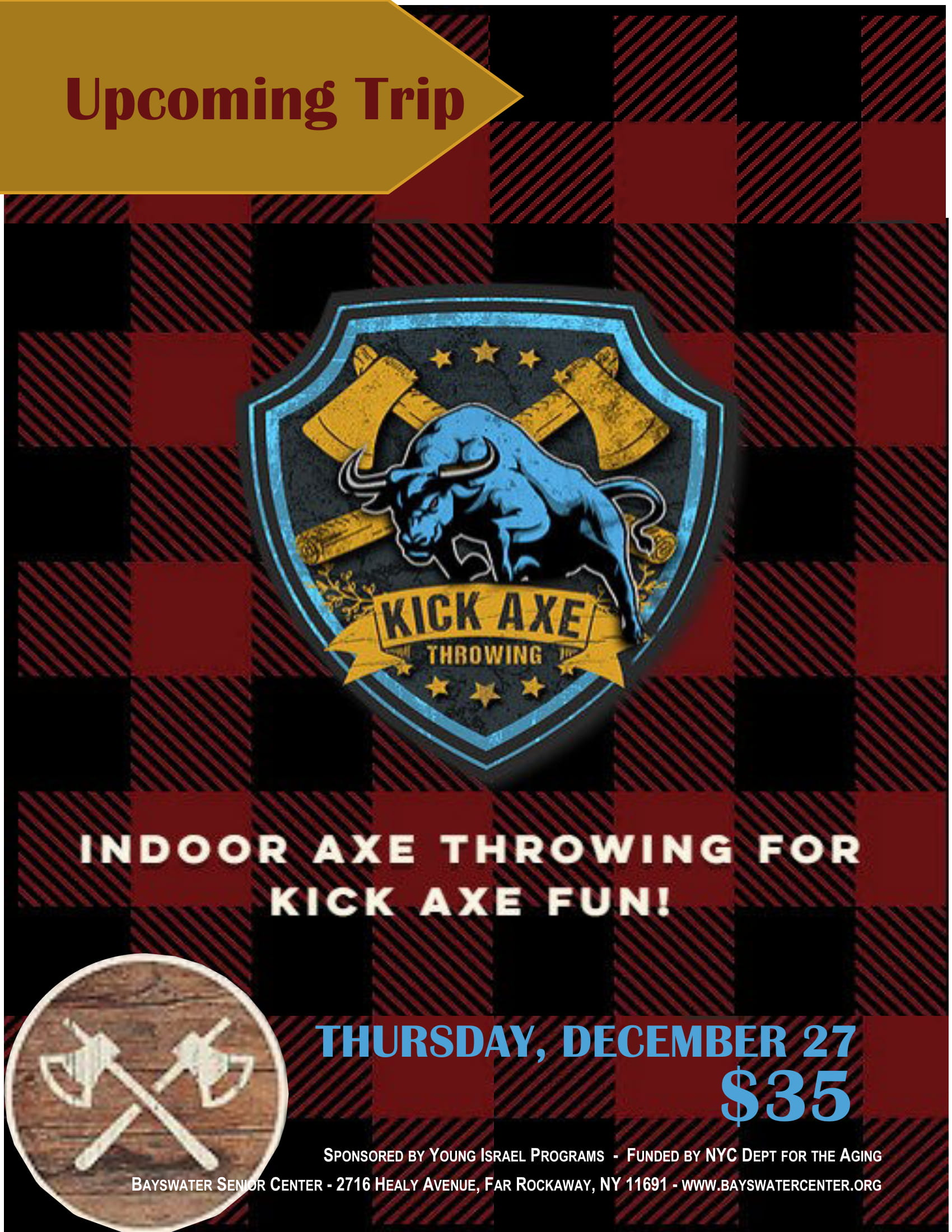 Kick Axe Flyer